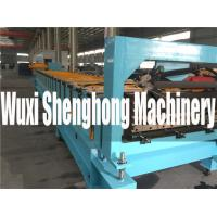 Quality PLC Glazed Tile Roll Forming Machine , Corrugated Roofing Sheet Making Machine wholesale