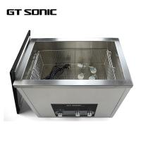 China Square Ultrasonic Parts Washer , Industrial Ultrasound Equipment 600W on sale