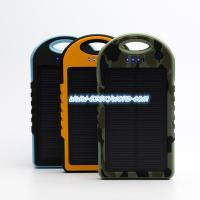 China new design High Capacity 12000mAh Portable Solar Power Battery Charger For Laptop, Cel on sale