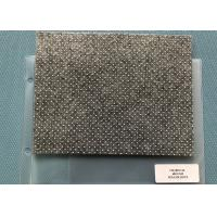 China Heat Non - woven Charcoal Needle Punched Felt With Anti - slip Sesame Dots on sale
