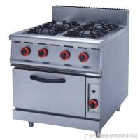 China JUSTA ZH-RQ-4 Stainless Steel Kitchen Equipments 4.8KW PNG Gas Burner With Oven on sale
