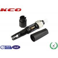 Quality Power Save Fiber Quick Connector , FC Quick Connect Fiber Optic Connectors wholesale