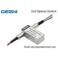 Quality 2x4 Fibre Optical Switches Duplex 1x2 Opto-Mechanical In Relay Hub Module wholesale