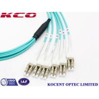 Cheap Switchable LC Uniboot MPO Multimode Fiber Optic Patch Cord OM1 OM2 OM3 OM4 for sale