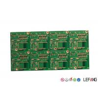 China Gold Plated PCB Board Multilayer , ASIC PCB Board For Communication Anti Rust on sale