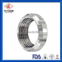 China 13R Round Nut Screwed Union Pipe Fittings Clamp Connecting For CNC Machine on sale