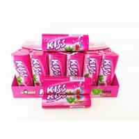Quality Kiss Candy Strawberry With Mint Flavor Compressed Mint Candy Fresh Your Mouth wholesale