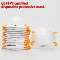 Quality Dustproof Disposable Dust Mask 63*30*60cm Non Woven Without Breathing Valve wholesale