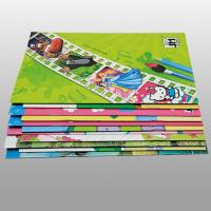 Kids English Book Saddle Stitch Printing wiht 80gsm ~ 157gsm FSC C2S Art Paper
