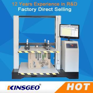 Cheap KJ-8210 Paper Box Compression Testing Machine LCD Display 550kg for sale