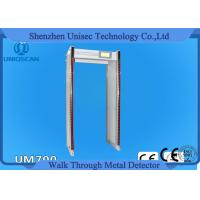 Quality 33 Zone Walk Through X Ray Machine , Airport Metal Detector Gate With 7inch LCD wholesale