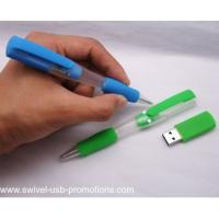 China Newest usb ball pen drive as business gift 2 in 1 on sale