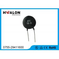 China Black High Power Inrush Current Limited Thermistor 5D20 10D11 for Transformer on sale