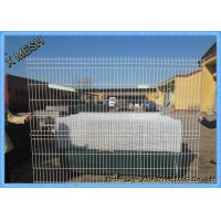 Quality PVC Coated Wire Mesh Fence Panels , Heavy Duty Metal Mesh Fencing High Tensile wholesale