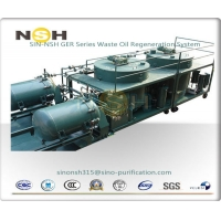 China Lubricating Oil Purifier Waste Oil Recycling Oil Regeneration System on sale