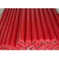 Quality Colorful low friction coefficient cast nylon plastic round bar for guide wheel wholesale
