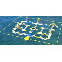 Quality Giant Inflatable Water Park Equipment / Inflatable Sea Water Park For Adults And Kids wholesale