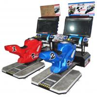 Quality 32 Gp Motor Car Racing Arcade Machine For Indoor With Music 400W MR-QF002 wholesale