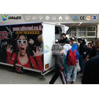 Cheap Vehicle-Mounted Mini Mobile 5D Theater With Motion Chair Movement And Special for sale