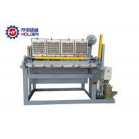 Quality 1500 Pcs / H Small Paper Pulp 5 Time / Min Egg Tray Making Machine wholesale
