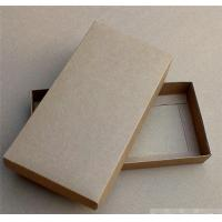Quality Recycled Eco-friendly Kraft Cardboard Gift Box with Lid wholesale