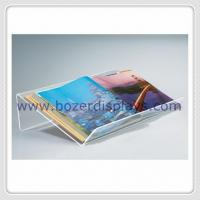 Large and Extra-wide Acrylic Desktop Book Displayers for sale