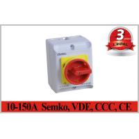 Quality Semko,VDE,CCC,CE IP65 2~5P 10A~150A Rotary Isolator Switch Electrical Isolation Switch Waterproof switch wholesale