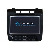Quality Auto Bluetooth DVD Player Touareg Navigation System with RDS / AM / FM / Rear view camera wholesale