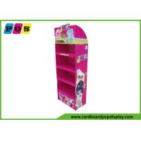 Quality Four Shelves Retail Cardboard Pop Displays For Plush Toys Promtion FL036 wholesale