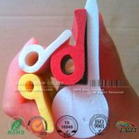 Buy cheap P shaped Closed Cell Silicone Sponge Strips,P shaped red color silicone profile from wholesalers