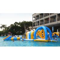 Quality Inflatable Water Park For Party, Pool Inflatable Water Games For Rental Business wholesale