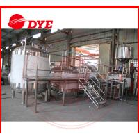Quality Electric Commercial Beer Brewing Equipment , Craft Distillery Equipment wholesale