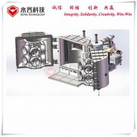 Quality Magnetron Sputtering Deposition, PVD Coating Machine For Automotive Hubs wholesale