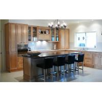 Quality Maple solid wood kitchen cabinet set wholesale