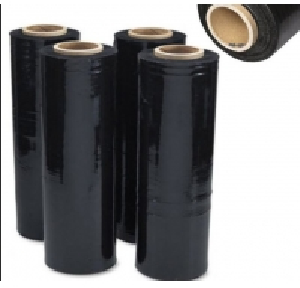 China Black Hand use LLDPE Pallet PE Stretch Film Pallet shrink wrap stretch film on sale