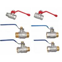 nicle plated brass valves