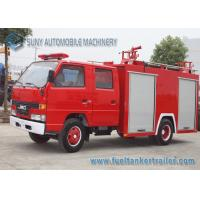 Quality Mini Red 2000L 2 Axle JMC Fire Fighting Vehicles Foam Fire Truck wholesale
