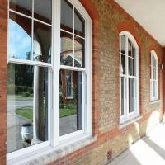 Quality Double Or Single Glazing Hung Aluminum Sash Windows / Vertical Opening Windows wholesale