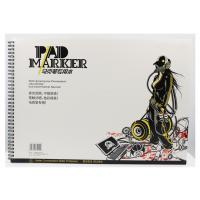 Quality Artist painting pad , the marker pad , A3 / A4 / A5 , low permeation marker pad wholesale