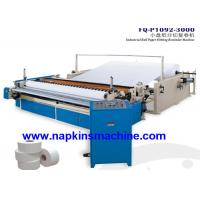 Quality Custom Printed Toilet Paper Roll Cutting Machine With Embossing System wholesale