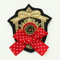 Quality Decorative Clothing Embroidered Patches Embroidered Badges No Minimum wholesale