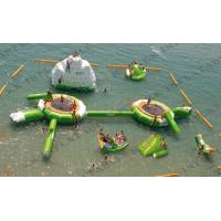 Quality Kids Backyard Inflatable Water Park With Repair Kits , watertoys Inflatable Party Rentals wholesale