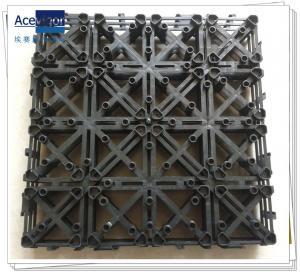 Quality PB-01 Upgrade Plastic base for composite decking tiles, decking floor plastic base wholesale