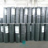 China Pvc Coated Wire Mesh Fence Roll Green Color For Protection / Building on sale