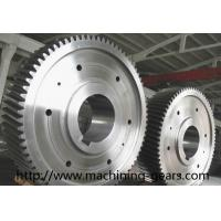Cheap Large Diameter Gears Construction Machinery Parts External Spur Gear for sale