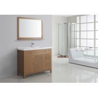 Quality Simple Modern 40 Inches MDF Bathroom Cabinet Acrylic - Resin Integrated Sink wholesale