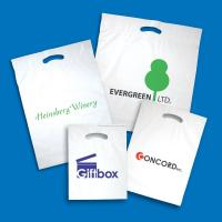 Quality Plastic Fold Over Die Cut Bags wholesale