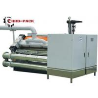 Quality Heating Exchange Single Facer For Corrugated Cardboard Production Line wholesale