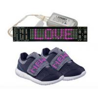 China Rechargeable LED Display Shoes APP Simulation Function Light Up Sole Shoes on sale