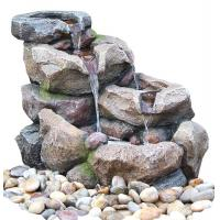 Buy cheap Natural Rock Water Fountains For Home Decoration , Weather Resistant from wholesalers